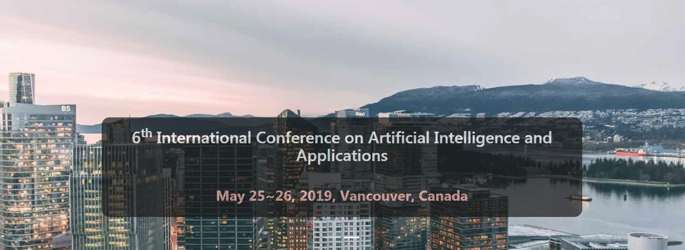 6th International Conference On Artificial Intelligence And